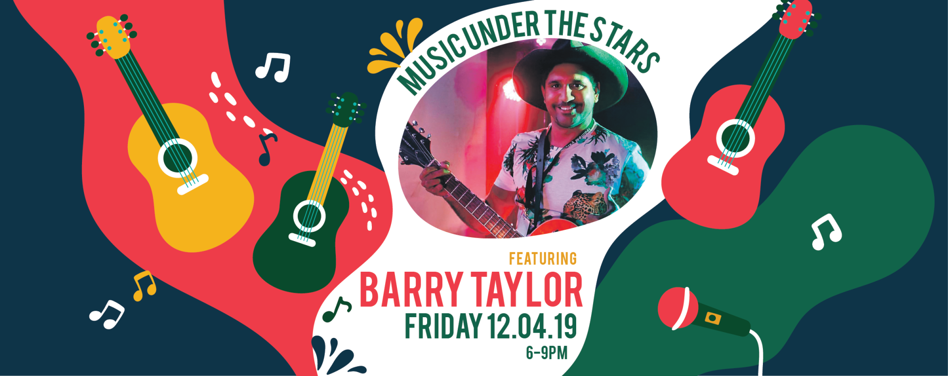 Music Under the Stars - Featuring Barry Taylor