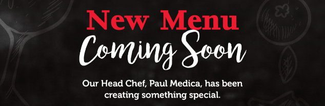 New menu coming soon!
