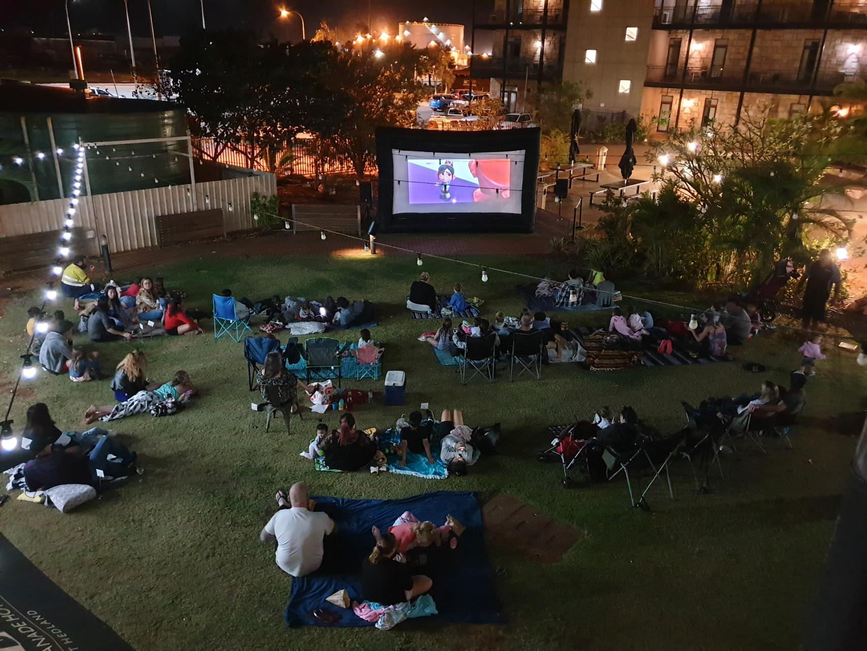 FREE Family Outdoor Movie Night